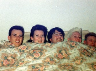 5 in a bed !