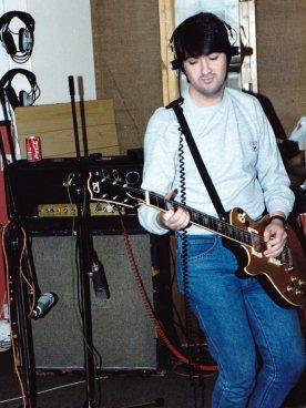 Stephen in Studio