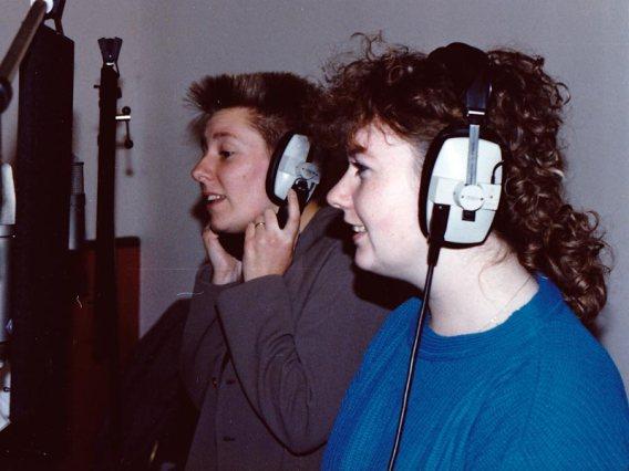 Claire & Jan in Studio
